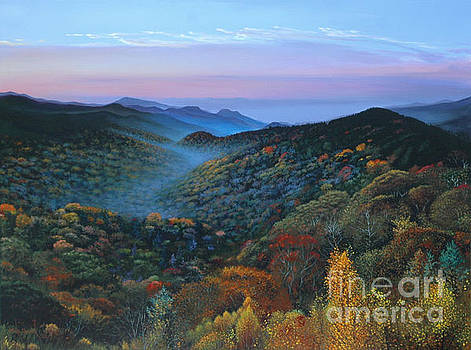 Autumn in the Great Smoky Mountains by Michael Nowak