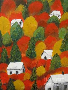 Autumn In The Hills by Beverly Livingstone