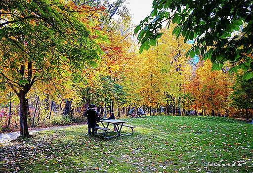 Autumn in the Park by Edward Coumou