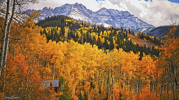 Autumn in the Rockies by Stacy Burk