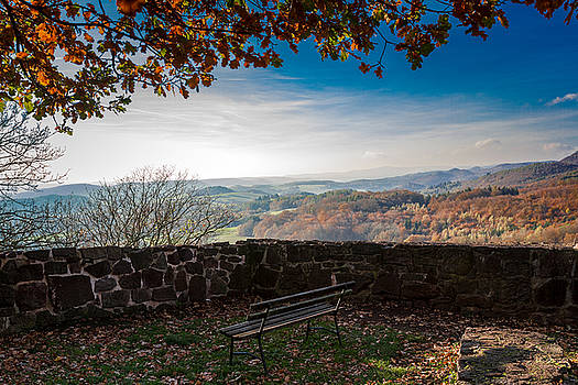 Autumn in the Southern Harz by Andreas Levi