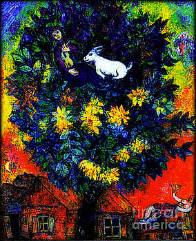 Marc Chagall - Autumn In the Village