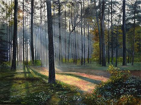 Autumn is coming by Sergey Lutsenko