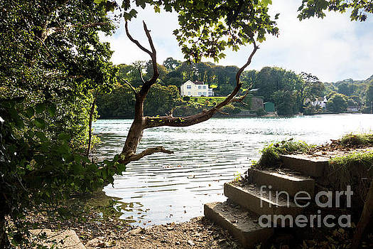Autumn is Coming to Mylor Bridge by Terri Waters