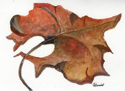 Autumn Leaf by Wendy Cunico