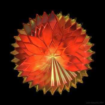 Autumn Leaves - Composition 2 by Jules Gompertz