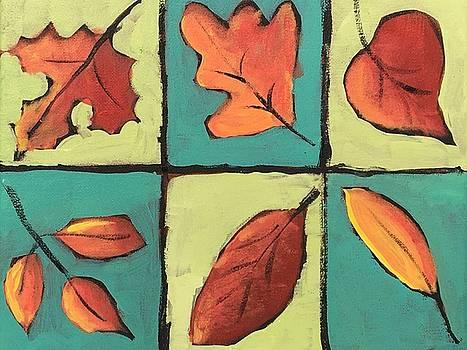 Autumn Leaves by Susan E Jones
