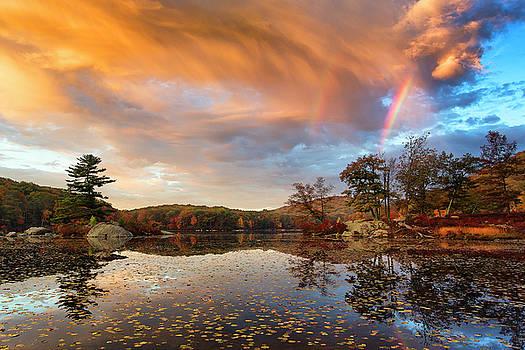 Autumn Lights by Miroslav Vrzala