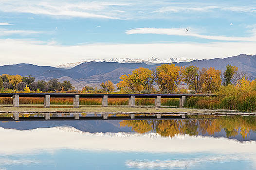 Autumn Lines Continental Divide and Sky Diver by James BO Insogna