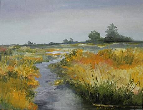 Autumn Marsh by Lisa Graves