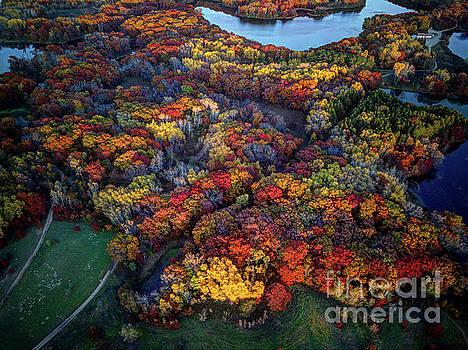 Wayne Moran - Autumn Minnesota Parks - Lebanon Hills Park Dakota County