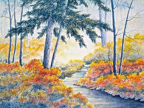 Autumn Mist by Carolyn Rosenberger