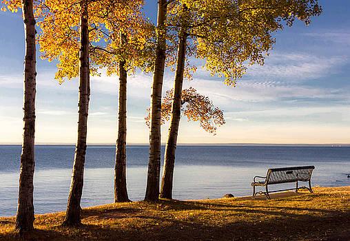 Mary Amerman - Autumn Morn on the Lake
