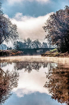 Autumn morning in france by Elly De vries