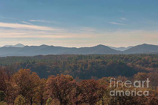 Dale Powell - Autumn Mountain View