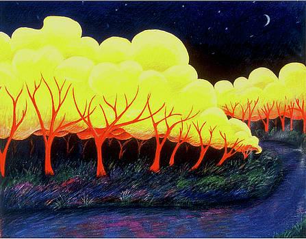 Autumn Night by Richard Dennis
