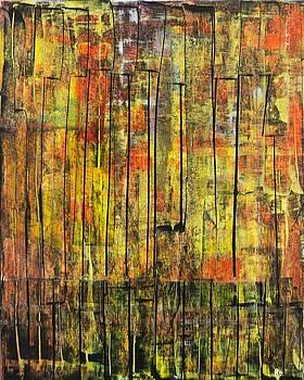 Autumn  Oil on board 16 x 20 2013 by Radoslaw Zipper