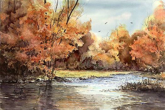 Sam Sidders - Autumn On The Buffalo