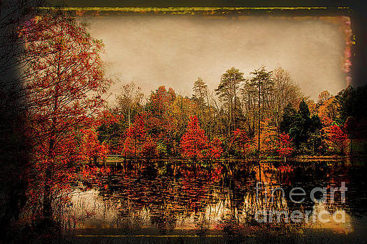 Autumn On The Lake by Darren Fisher