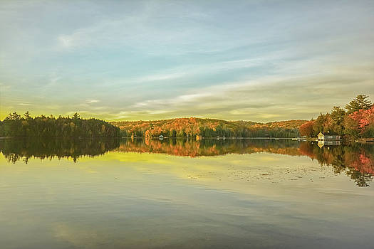 Autumn Morning On The Lake by Karl Anderson