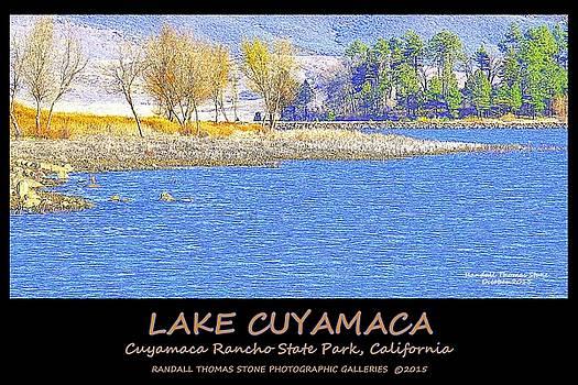 Autumn on the Lake Poster by Randall Thomas Stone