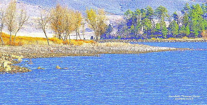 Autumn on the Lake by Randall Thomas Stone