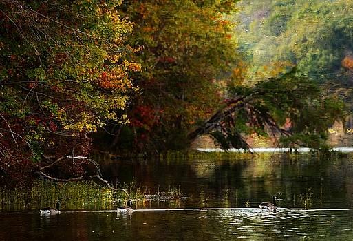 Autumn On The Lake by Scott Fracasso