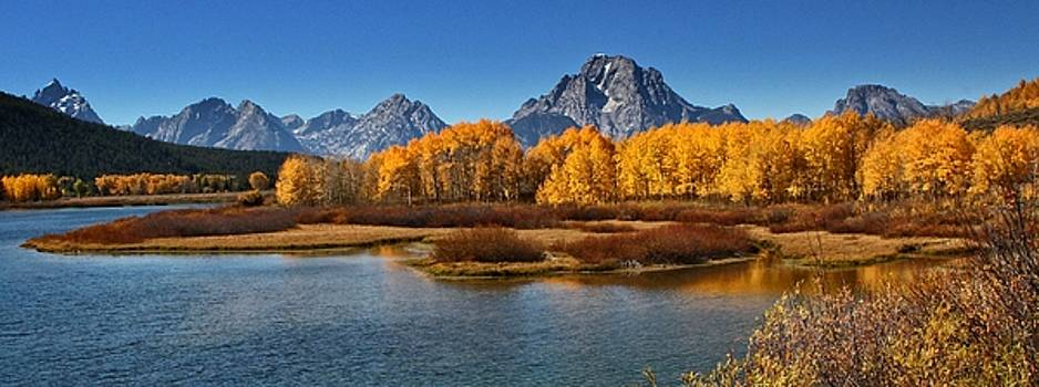 Autumn on the Oxbow by Patty Plummer