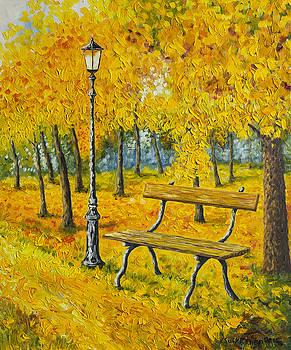 Autumn Park by Veikko Suikkanen