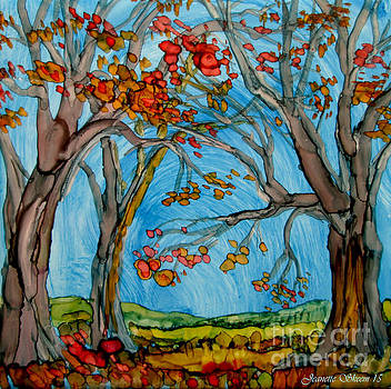 Autumn Path by Jeanette Skeem