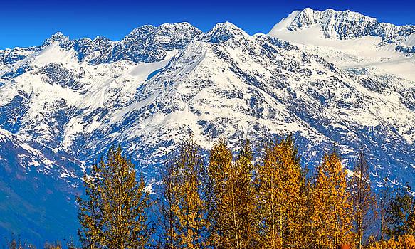 Autumn Peaks by Brian Stevens