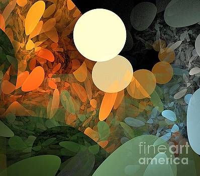 Autumn Pebbles by Kim Sy Ok