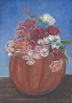 Autumn Petals by Linda Clark