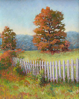 Autumn Pickets by Marsha Savage