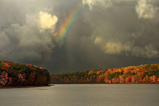 Autumn Rainbow by Scott Fracasso