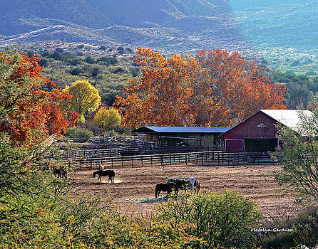 Autumn Ranch by Matalyn Gardner