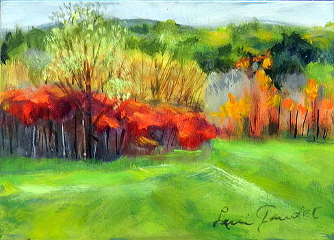 Autumn Reds by Lenore Gaudet