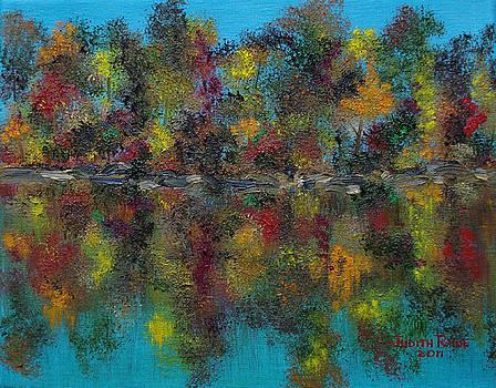 Autumn Reflection ii by Judith Rhue