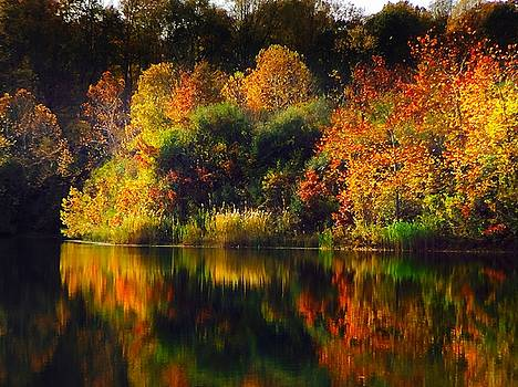 Autumn Reflections at Indigo Lake by Jeff Picoult