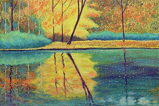 Autumn Reflections by Eugene Kuperman