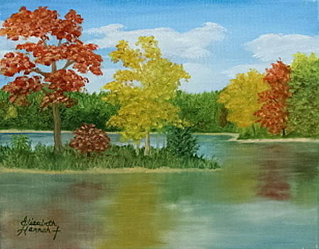 Autumn River by Elizabeth Hannah