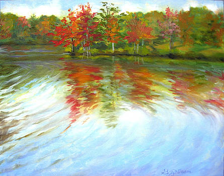 Autumn River by Gloria Nilsson