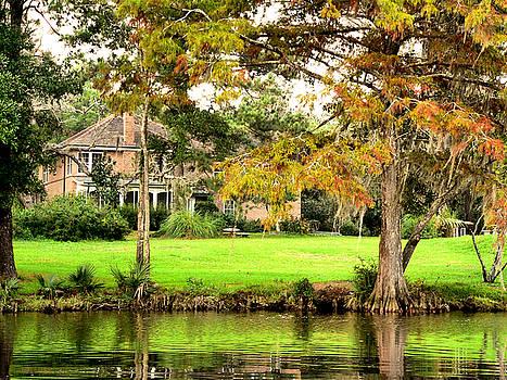 Autumn River House by Kathy K McClellan