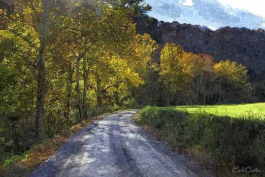 Autumn Road by Earl Carter