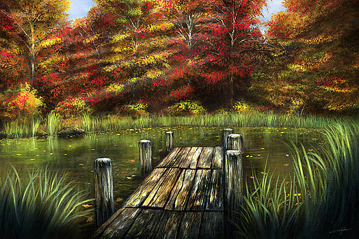 Autumn Serenity by Dale Jackson