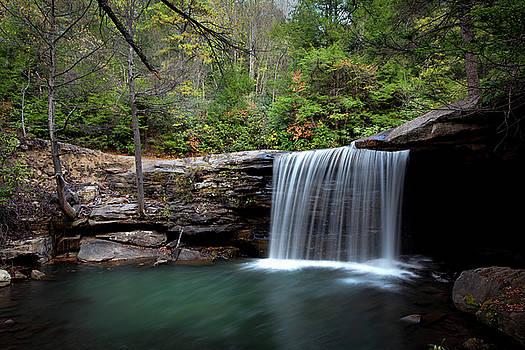 Autumn Shower on Glade Creek by Jeremy Clinard