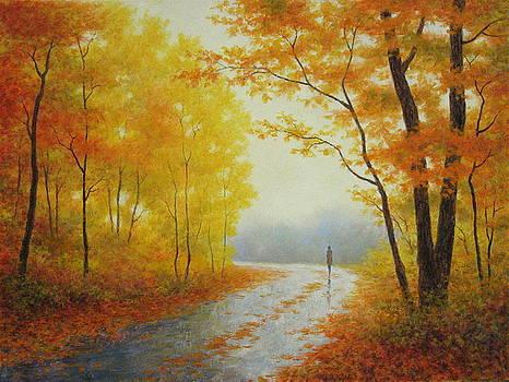 Autumn Solitude by Barry DeBaun