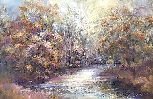 Autumn Stream by Bonnie Goedecke