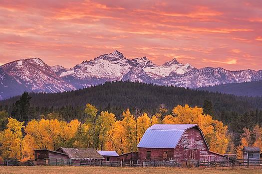 Autumn Sunset by Scott Wheeler
