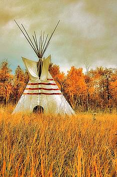 Autumn Teepee by Nelson Strong